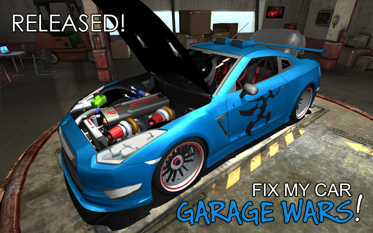 Fix My Car: Garage Wars!